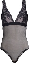 Stella-McCartney-Lingerie STELLA MCCARTNEY LINGERIE Sophie Surprising lace and mesh body