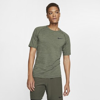 Nike Men's Short-Sleeve Slim Fit Top Pro