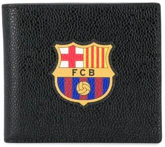Thom Browne FCB emblem bifold wallet