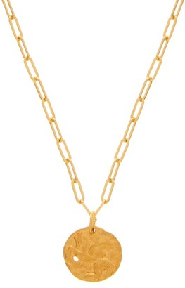 Alighieri The Pegasus 24kt Gold-plated Necklace - Womens - Yellow Gold