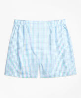 Brooks Brothers Slim Fit Two-Tone Gingham Boxers