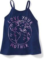 Old Navy Graphic High-Neck Swing Tank for Toddler