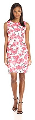 Ronni Nicole Women's Sleevless Floral Sheath Dress