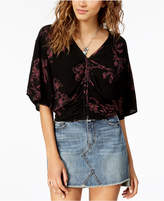 American Rag Juniors' Open-Back Top, Created for Macy's