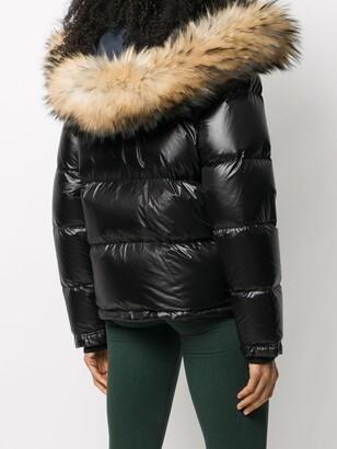 Fay Faux-Fur Hood Padded Jacket