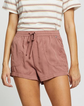 Rusty Women's Pink Shorts - Bounds Walkshorts - Size One Size, 10 at The Iconic