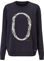 HUGO BOSS BOSS Orange Tapro Logo Sweater, Dark Blue