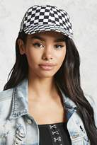 Forever 21 Checkered Baseball Cap