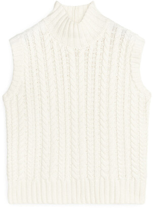Arket Cable-Knit Vest