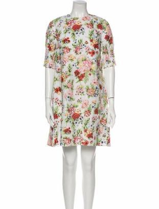 Emilia Wickstead Linen Knee-Length Dress w/ Tags White