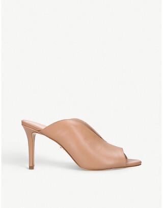 Kurt Geiger London Broadwick leather heeled mules