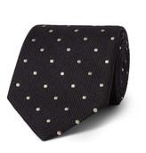 Tom Ford 8cm Polka-Dot Silk and Wool-Blend Tie