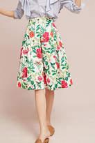 Eliza J Myrna Floral Skirt