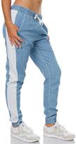 Swell Gena Chambray Pant Blue