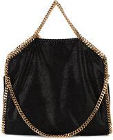 Stella McCartney Black Gold Falabella Tote Bag - women - Polyester/Brass - One Size