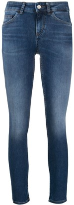 Liu Jo Low-Rise Cropped Jeans