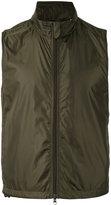 Aspesi zipped waistcoat - men - Polyamide/Polyester - XL