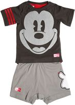 adidas Mickey Mouse Jersey T-Shirt & Shorts