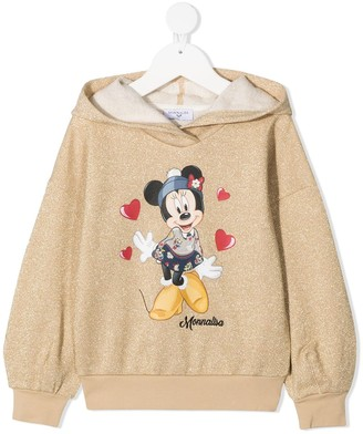 MonnaLisa Minnie logo sweatshirt