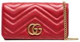 Gucci Marmont chevron quilted leather bag
