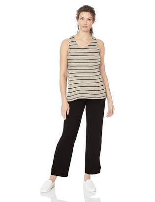 Everly Grey Women's Jacqueline Maternity and Nursing 2 Piece Tank and Pant Set