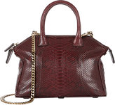 Zagliani WOMEN'S PYTHON MINI TOMODACHI CROSSBODY