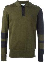 Vivienne Westwood Man contrast sleeve polo shirt