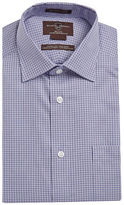 Black Brown 1826 Houndtooth Classic Fit Dress Shirt
