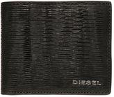 Diesel Wrinkled Laser-Cut Leather Wallet