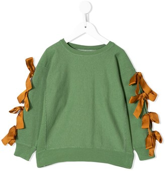 Go To Hollywood Bow Detail Sweatshirt