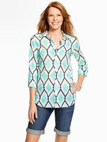 Talbots Summer-Light Cotton Shirt - Diamond Jubilee