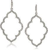 Carolee Icing on the Cake Moroccan Trellis Drop Earrings