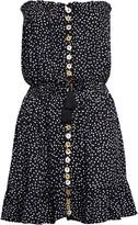 Tiare Hawaii Polka-Dot Strapless Cover-Up Dress