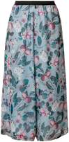 Antonio Marras floral-print cropped trousers