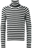 Haider Ackermann Invidia stripe turtleneck jumper - men - Cashmere/Wool - M