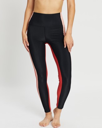 Beach Riot Colour-Blocked Rib Leggings