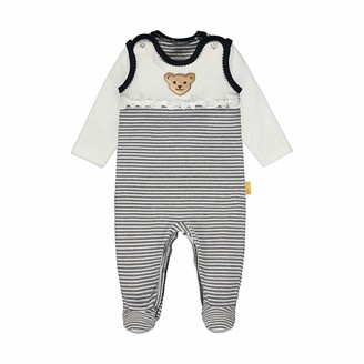 Steiff Baby Girls' Set Strampler + T-Shirt Langarm Clothing