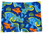 Speedo Blue Seasquad Shark Print Aquashort