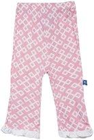 Kickee Pants Print Ruffle Pants (Baby) - Lotus Geo-Preemie