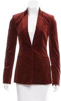 The Row Velvet Oversize Blazer