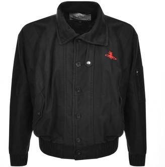 Vivienne Westwood Wilma Bomber Jacket Black