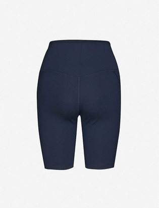 Girlfriend Collective High-rise stretch-recycled polyester shorts