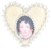Jay Strongwater Dominique Heart Picture Frame
