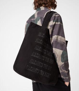 AllSaints Stamp Canvas Tote Bag
