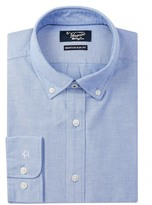 Original Penguin Twill Oxford Heritage Slim Fit Dress Shirt