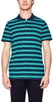 Esprit Men's 067EE2K015 Polo Shirt, Blue (Teal 2 456)