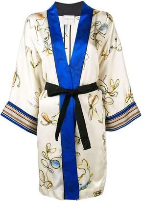 Forte Forte floral print kimono jacket