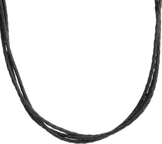 American West 3-Strand Leather Necklace