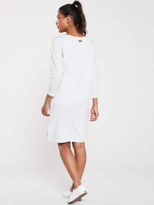 Barbour International Zip Detail Circuit Dress -Grey/Marl