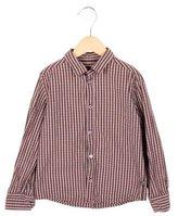 Dolce & Gabbana Boys' Plaid Button-Up Shirt
